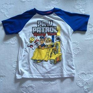 /4 for $20/ paw patrol tshirt